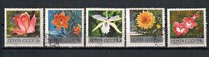 Sowjetunion-Zentraler-botanischer-Garten-MiNr-3620-3624-1969-used