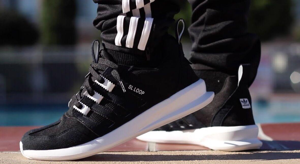 Adidas Originals - Baskets matelassées ZX SL Loop Flux - neuves, noir, argent, Q16460