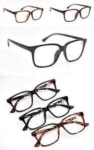 82261510666 Bifocal Geek Nerd Unisex Stylish Big Frame Reading Glasses +1.0+1.5+ ...
