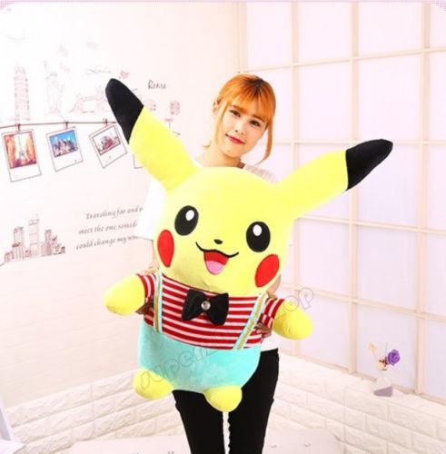 31  Giant big hung hung hung Pokemon Go Pikachu PLUSH STUFFED TOYS doll Kids Xmas Gift new 62b96b