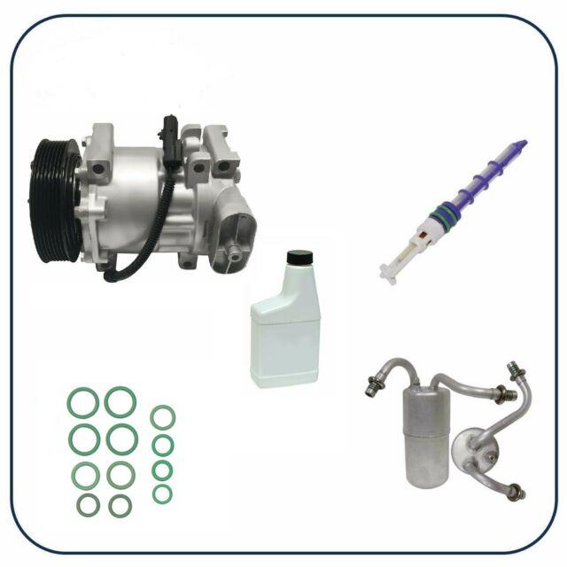 RYC Remanufactured Complete AC Compressor Kit EG553