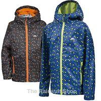TRESPASS BOYS WATERPROOF CALLAN HOODED RAIN JACKET COAT KIDS CHILDS 3-12yrs