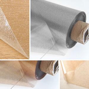 Clear Transparent Glitter Pvc Vinyl Wipe Clean Tablecloth