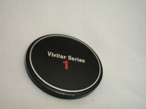VIVITAR series 1 metal front lens cap SLIP ON 67mm size filter