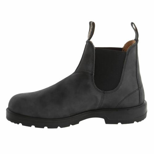 Rustic Boots Blundstone Leather Black Chelsea 587 Ankle Classic waqq8fx