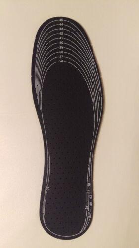5 Paar Einlegesohlen mit Aktivkohle Einlegesohle Schuheinlagen Schuheinlage