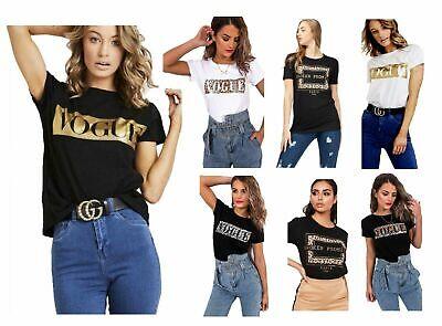 Womens Ladies Leopard Broken Promise Slogan Print T-Shirt Short Sleeve Tee Top