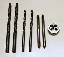 7 pc M3 Taps and Die Set with 2.5mm /& 3.3mm Drills USA Shipping