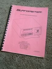 Precision Devices Inc Surfometer PDA-400-ao PDA400ao PDA-400 Used