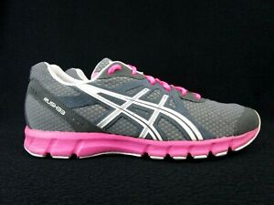 Details about Asics Rush 33 Trainers Women's Running Sneaker Shoes Size 10 Pink Gray (T1H7N)