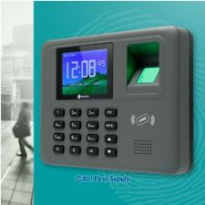 New Fingerprint And Rfid Card Attendance Time Clock Tcpip Usb Remote Access