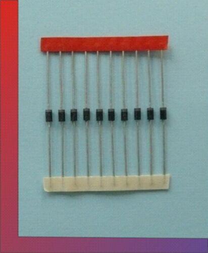 10 x Diode Leistungsdiode Gleichrichterdiode 1N4002 100V 1A