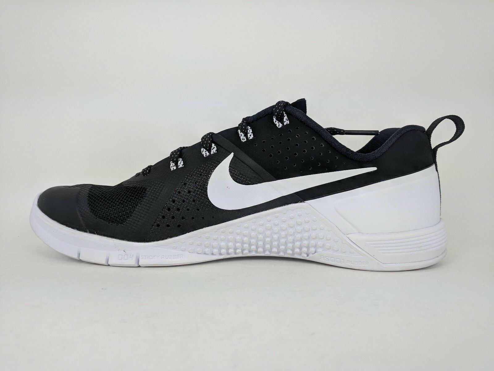 check out e6def 3b95a ... Nike Men s Metcon 1 AMP PX Training Crossfit Shoes Shoes Shoes Black  White Sz 7 ...