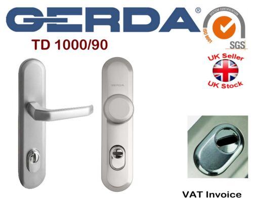 Gerda High Quality TD 1000 Door Handle Pair External Size: 90/212mm
