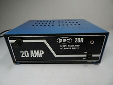 Nippon America DC Power Supply 20 Amp 110V DVP-2212