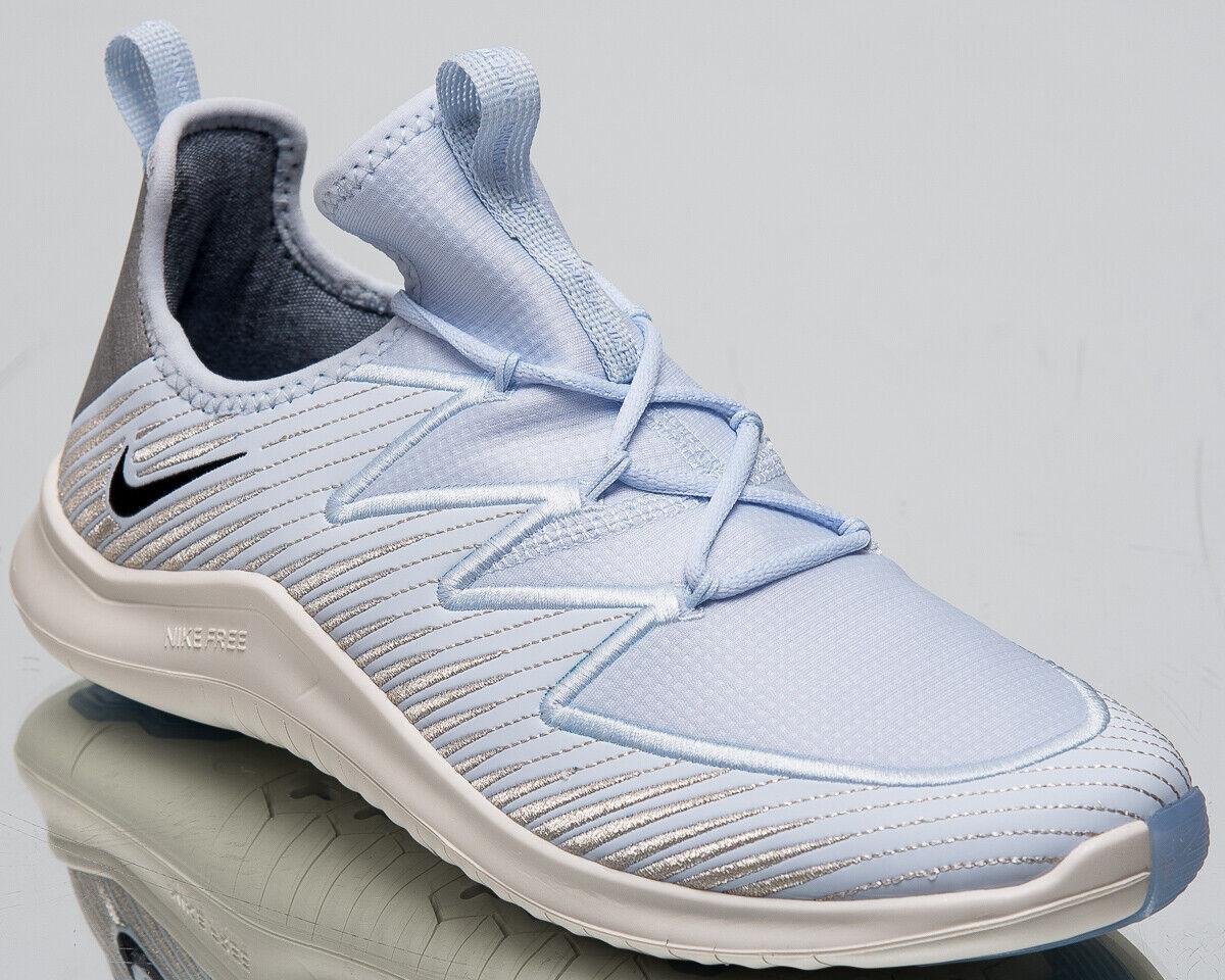 Nike Free Trainer 9 Ultra Metallic Womens New Half bluee Running shoes AV2140-400