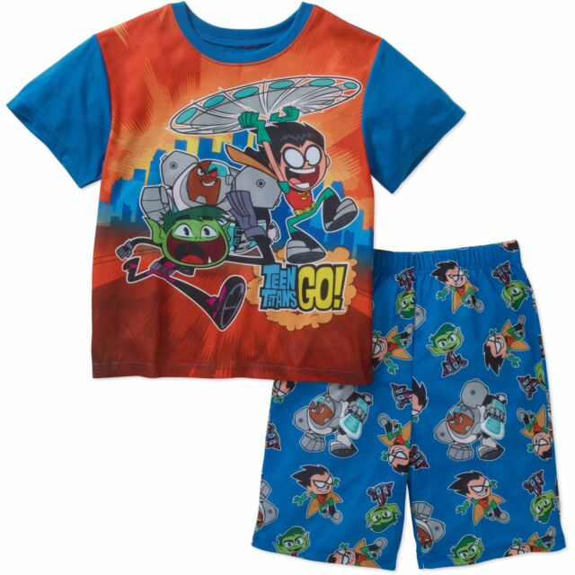 Disney Incredibles 4 PC Long Sleeve Tight Fit Cotton Pajama Set Boy Size 4 6 8