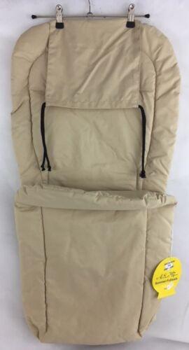 ASMi Sommer-Fußsack Baby Fußsack DUO Micorfaser Farbe Caramel 37711 NEU K 101