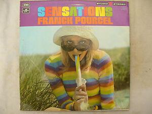 FRANCK POURCEL LP SENSATIONS test pressings double lp's