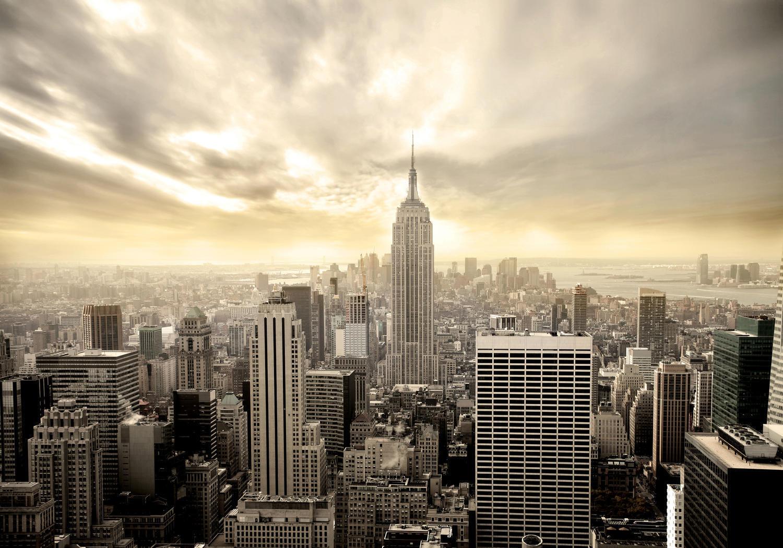 Fototapete New York Skyline View  Tapete Vliestapete
