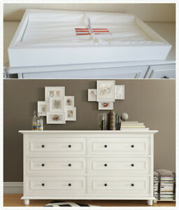 Miraculous Details About Beata 6 Chest Of Drawers With Removable Change Table Top In White Download Free Architecture Designs Intelgarnamadebymaigaardcom
