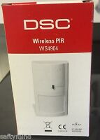 Brand Dsc Ws4904p Wireless Pet Immune Pir Motion Sensor, W/ Battery, Ws4904