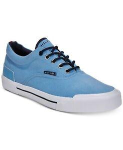 Tommy-Hilfiger-TH-Pallet-Light-Blue-Casual-Canvas-Sneaker-Boat-Deck-Shoe-sz-7-5