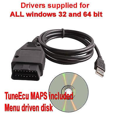 TuneEcu compatible KKL lead Tune Ecu includes Android USB