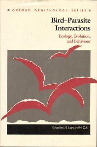 BIRD-PARASITE-INTERACTIONS-ECOLOGY-EVOLUTION-amp-BEHAVIOUR-J-E-Loye