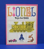 Lionel 1965 Consumer Catalog Mint Original With Slot Cars