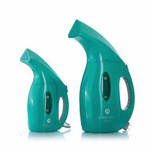 JOY-900-Watt-My-Little-Steamer-amp-Go-Mini-Steamer-Set-TEAL-GREEN-COLOR-NEW