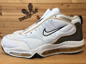 New-1999-Nike-Air-Aggress-Force-Max-sz-16-White-Yellow-Black-OG-830112-110