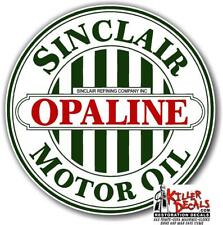 "4/"" OLDER SINCLAIR GASOLINE DECALS GAS AND OIL SINC-3"