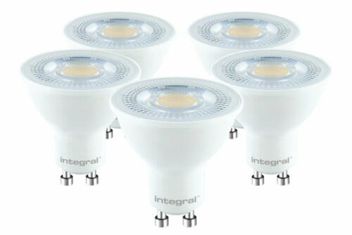68W 4000K 530lm Non-Dimmable Lamp Integral GU10 Classic PAR16 5.7W 5 Pack