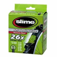 "(2 PACK)  SLIME FILLED SELF SEAL  26"" BIKE BICYCLE TUBE MOUNTAIN BIKE"
