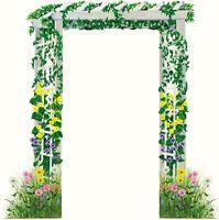 Tatouage Trellis Doorway With Field Of Flowers Rub-on Transfer Mural