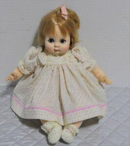 Madame-Alexander-Vintage-1975-15-039-Puddin-Tagged-Dress-New-Crier