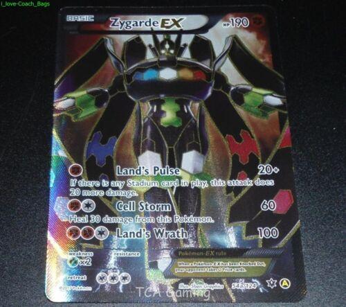 Zygarde EX 54a/124 Fates Collide Alternate Full Art Promo NM MEGA POWERS Pokemon