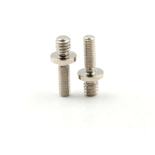 """2x long 1//4/"""" Male Threaded to M5 MaleThreaded screw Adapter for tripod camera WD"""