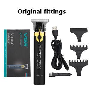 Portatil-Electrico-Impermeable-Sin-Cable-Recargable-Vgr-Hair-Trimmer-Clipper-Herramienta