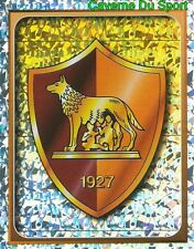 351 SCUDETTO BADGE LOGO AS.ROMA METAL FIGURINE STICKER CALCIO MERLIN 2000-2001