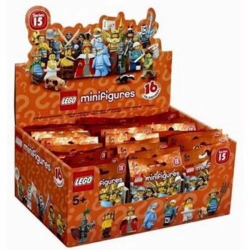LEGO 71011  SERIES 15 CASE BOX OF 60 MINIFIGURES nouveau SEALED  offres de vente