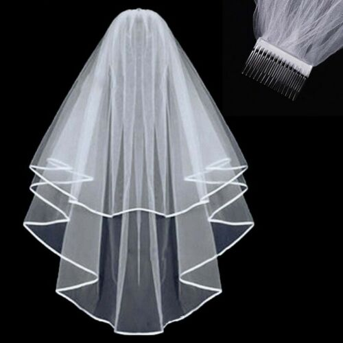 Tulle Veil With Comb Elegant Design Wedding Women/'s Bridal for Wedding Party