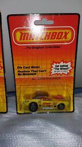 "Matchbox Superfast #1 Dodge Challenger 1983 ""Toyman"" Menta en tarjeta"