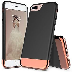 best website 721bc 62237 Details about iPhone 8 Plus / iPhone 7 Plus Case, Slider Scratch Proof Case  + Screen Protector