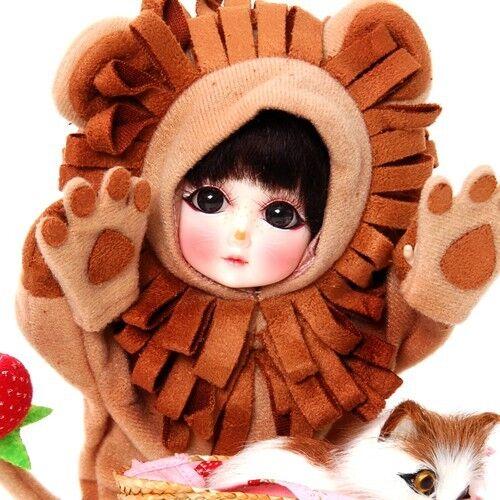 Ruby rot Galleria BJD StrawBerina, Mighty lion