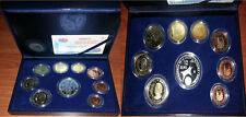 ESTUCHE EUROSET PROOF 2002 . PRESIDENCIA UNION EUROPEA . 9 VALORES FNMT   ESPAÑA