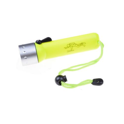 Professional LEDs plongée lampe de poche étanche plongeur sous-marine~PL