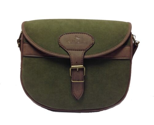 Verney Carron Cartridge Bag Green Soft Feel Country Hunting Shooting