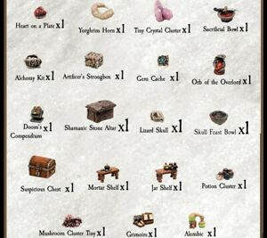 Dwarven-Forge-Caverns-Deep-Tiny-Treasures-Trove-D-amp-D-Dungeon-Dressing-Pieces-NEW